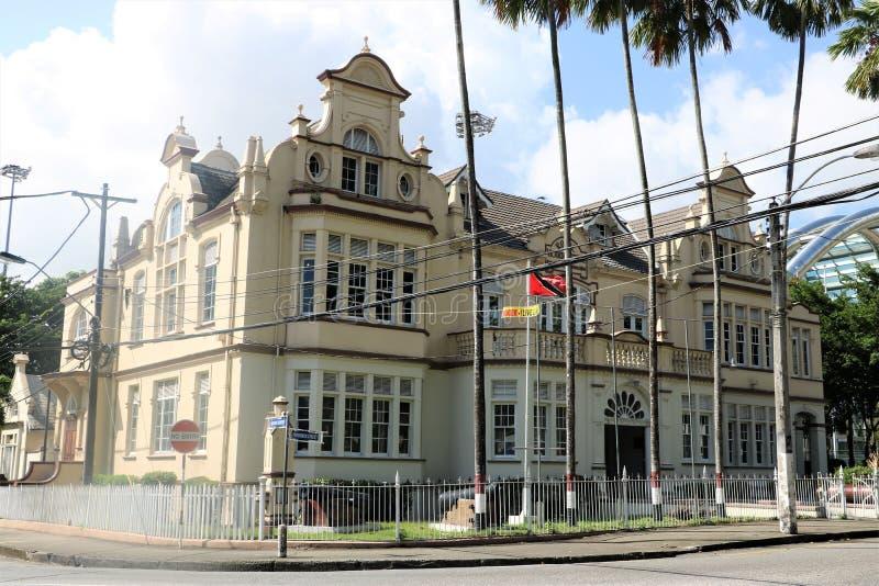 Musée National et Art Gallery, Trinidad-et-Tobago image stock