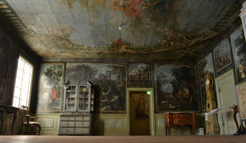 Musée National Helsinki de salon images libres de droits