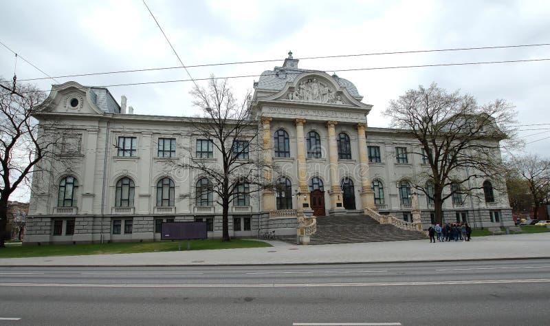Musée National letton d'art images stock