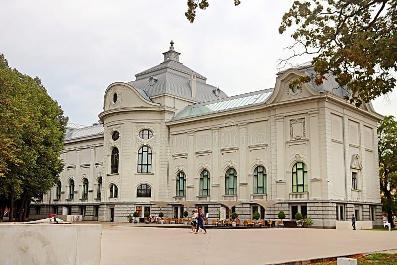Musée National letton d'art, Riga, Lettonie photographie stock