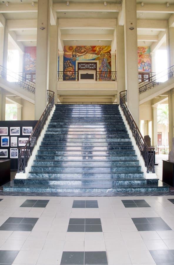 musée national Mana de culture de palais d'escalier image libre de droits