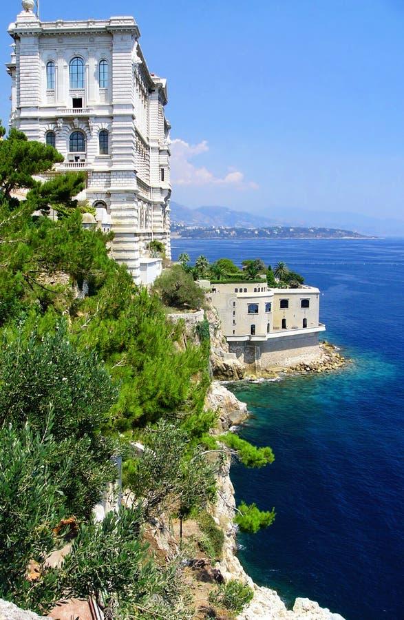 Musée océanographique, Monaco. photographie stock libre de droits