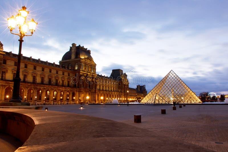 Musée Paris d'auvent images stock