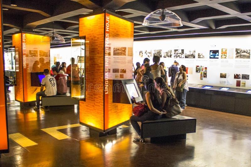 Musée portugais de langue image stock