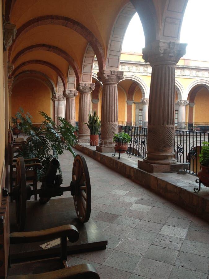 Musée régional au Mexique image libre de droits