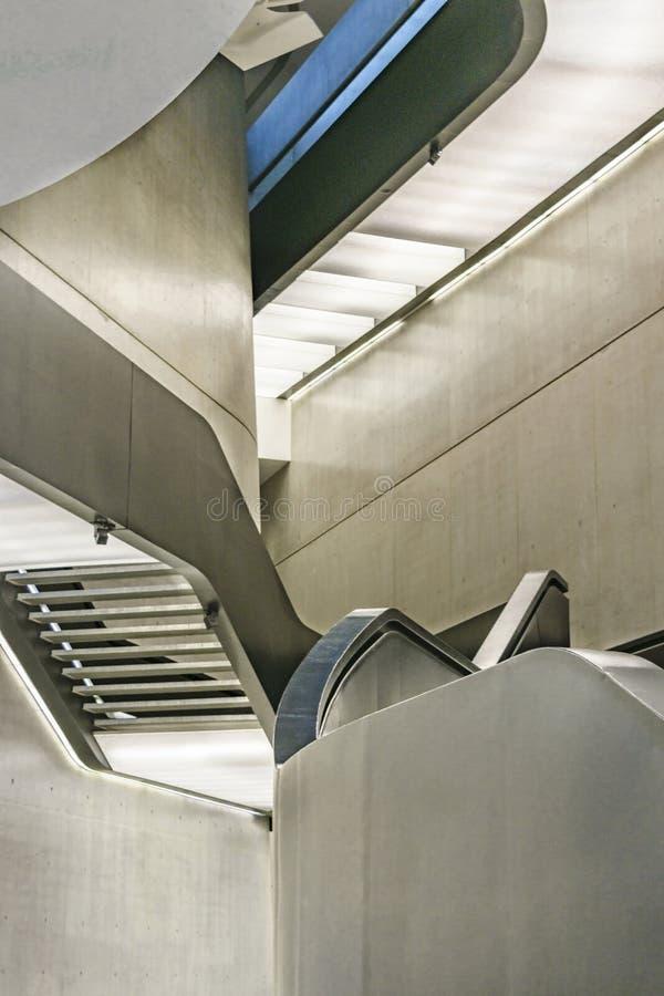 Musée Rome Italie de MAXXI image stock