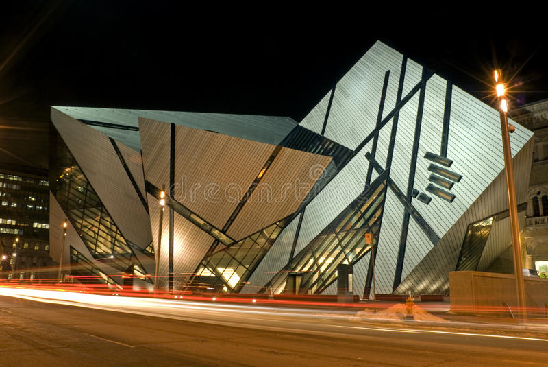 Musée royal d'Ontario à Toronto photo stock