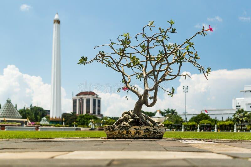 Musée Tugu Pahlawan à Sorabaya, Java-Orientale, Indonésie photos stock