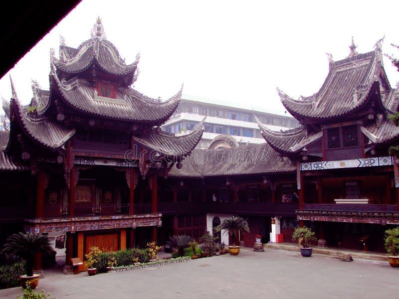 Musée Zigong Sichuan d'histoire de sel images libres de droits