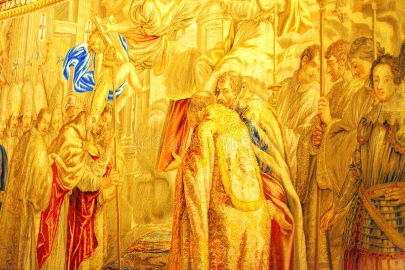 Musées de Vatican - rampe de Vatican. Rome. image stock