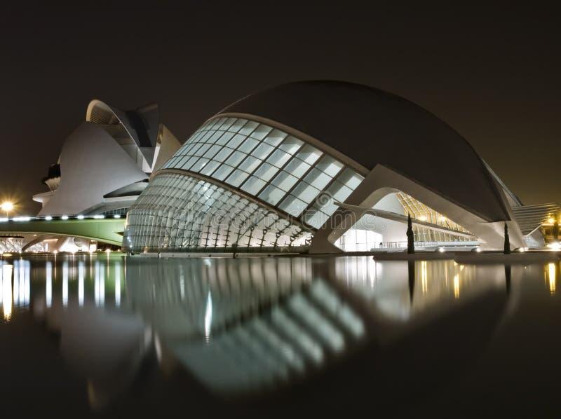 Musées neufs à Valence images stock