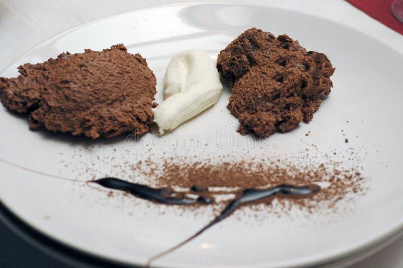 mus czekoladowy zdjęcia royalty free