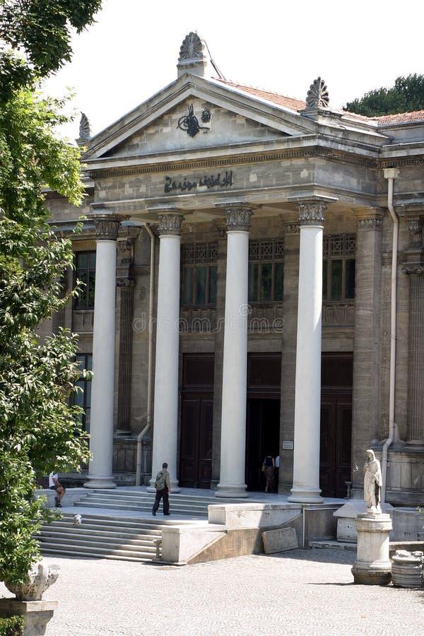 Mus?e d'arch?ologie d'Istanbul images libres de droits
