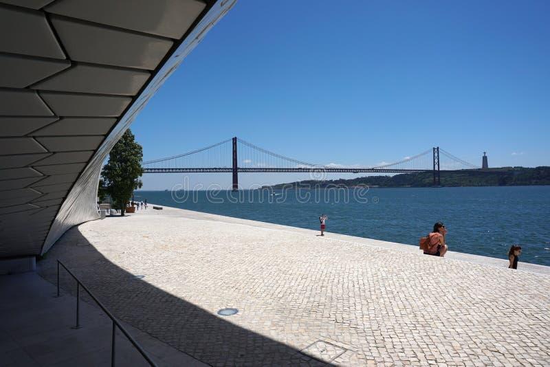 Mus?e d'Art, architecture et technologie ? Lisbonne photo libre de droits