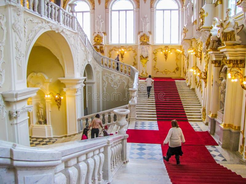 Mus?e d'ermitage, St Petersburg, Russie photos libres de droits