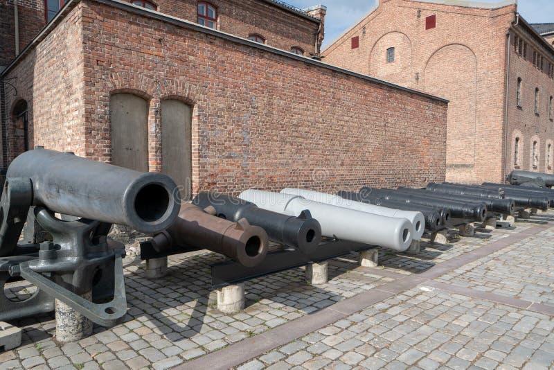Mus?e de forces arm?es d'Oslo image stock