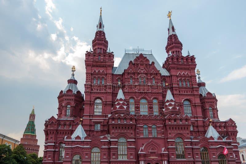Mus?e historique d'?tat ? Moscou image stock