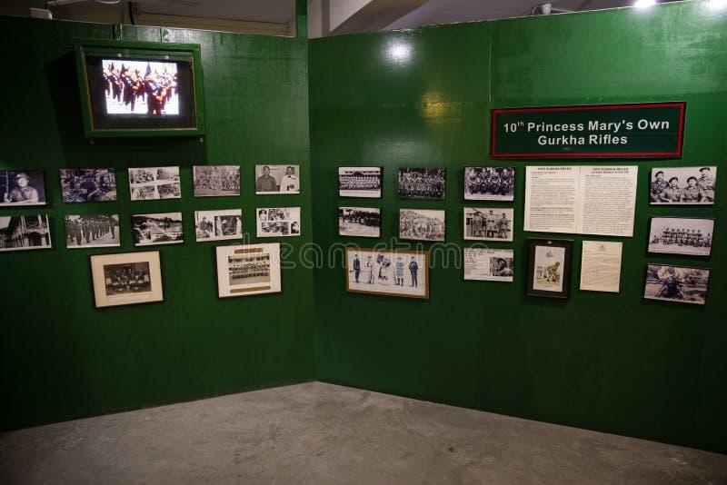 Mus?e Pokhara de Gurkha images stock