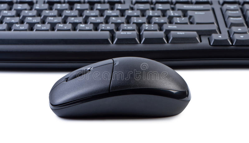 mus för bakgrundsdatortangentbord royaltyfri bild