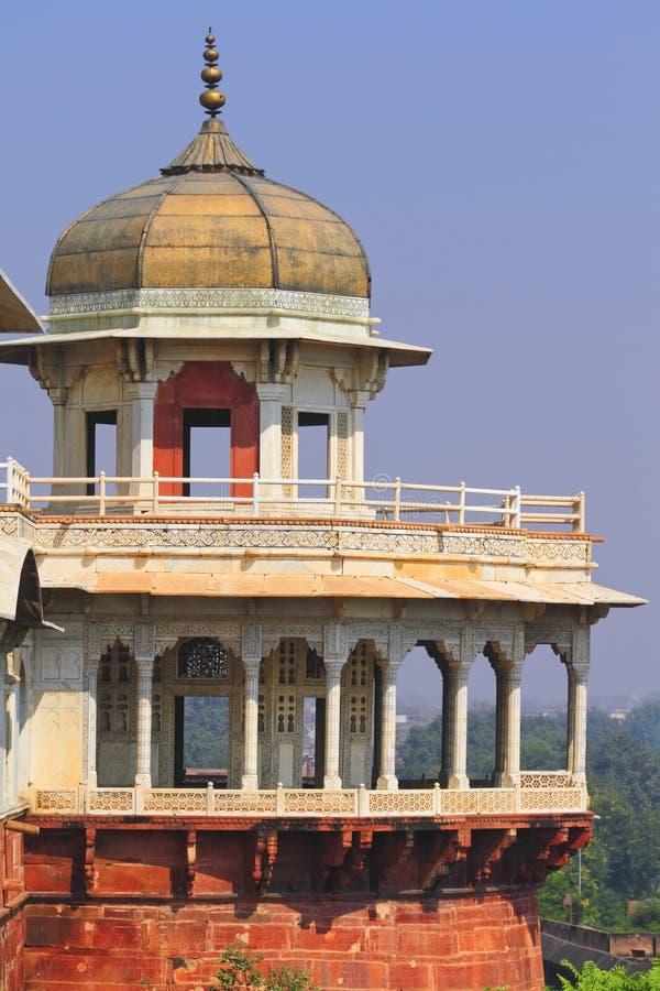 Musammman Burj, Agra-Fort lizenzfreie stockbilder