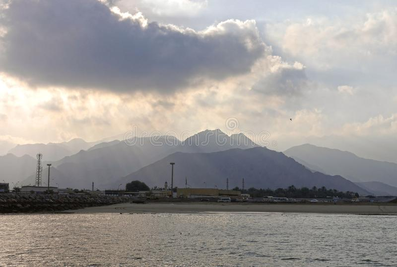 Musandam, Omán imagenes de archivo