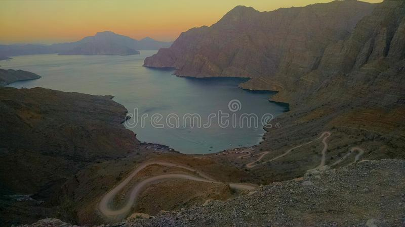 Musandam PIC (Oman) royalty free stock images
