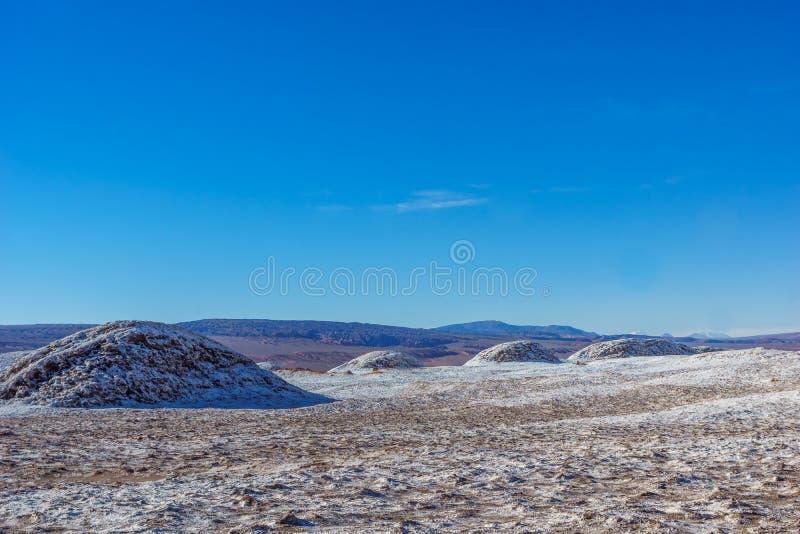 Musardez la vallée par San Pedro de Atacama au Chili photographie stock