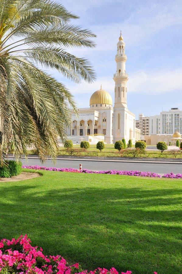 muscat μουσουλμανικών τεμενών zawawi του Ομάν στοκ φωτογραφία με δικαίωμα ελεύθερης χρήσης