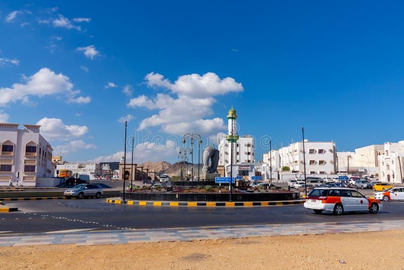 Muscat, Ομάν - 17 Δεκεμβρίου 2018: Τετράγωνο πόλεων Muscat, η πρωτεύουσα του Ομάν στοκ φωτογραφίες με δικαίωμα ελεύθερης χρήσης