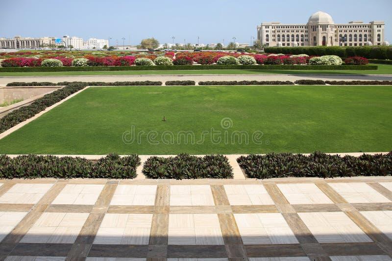 Muscat capitol av Oman royaltyfria foton