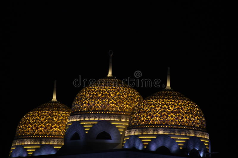 Muscat mosque stock photography