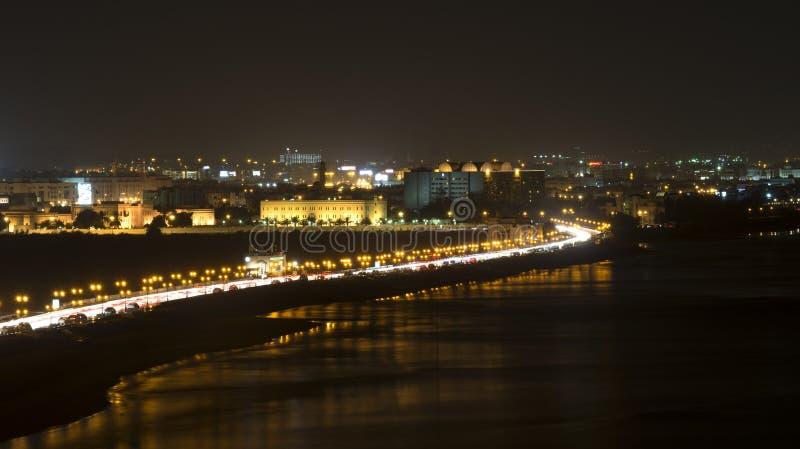 Muscat natt arkivfoto