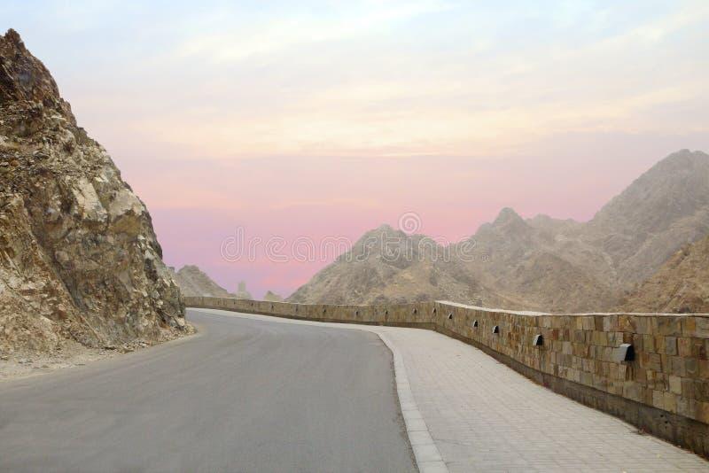 Muscat, Oman, Al Bahri Road in Muscat. royalty free stock image