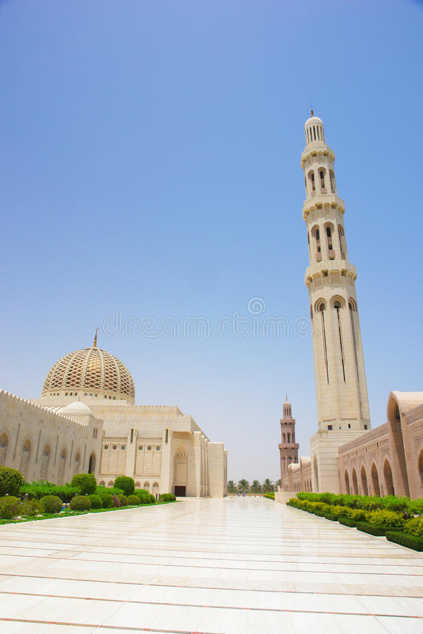 Download Muscat, Oman - Sultan Qaboos Grand Mosque Stock Photo - Image: 14407638