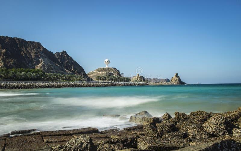 Muscat stad, Oman royaltyfri fotografi