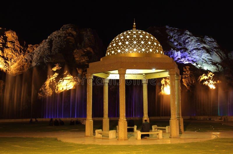 muscatoman paviljong royaltyfria foton