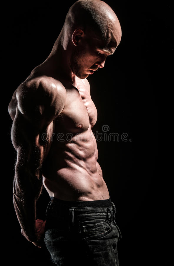 Muscle mass stock images