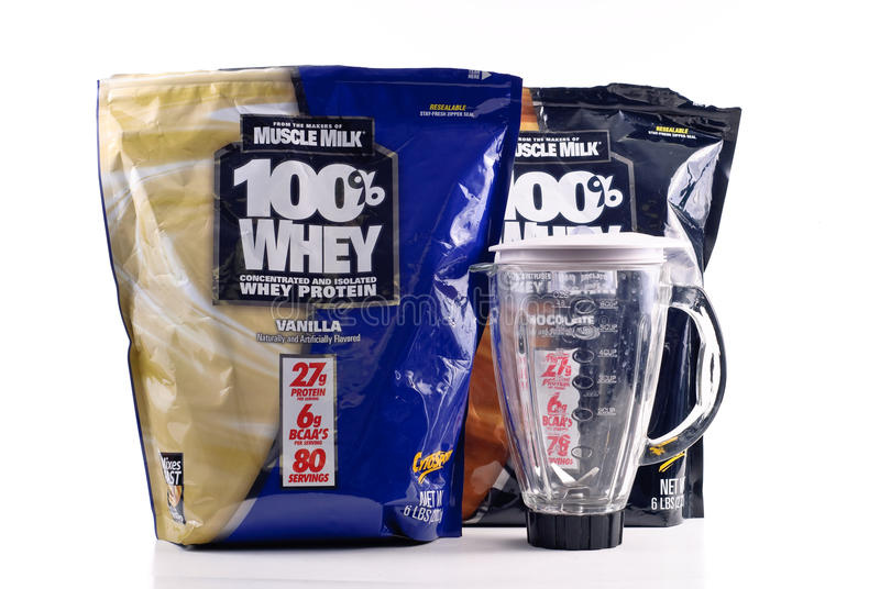 Download Muscle Milk Whey Protein editorial stock image. Image of grams - 17430954