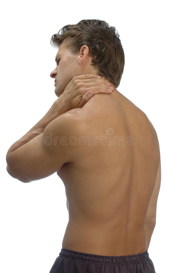Download Muscle pain stock photo. Image of topless, sports, injured - 9919466