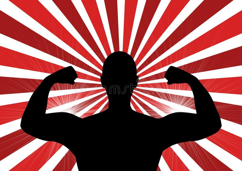 Muscle Power stock photo