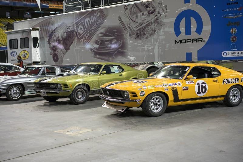 musclecars stockbilder