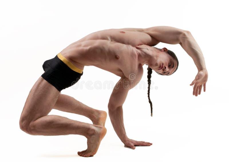 Muscled αρσενικό στοκ εικόνες με δικαίωμα ελεύθερης χρήσης