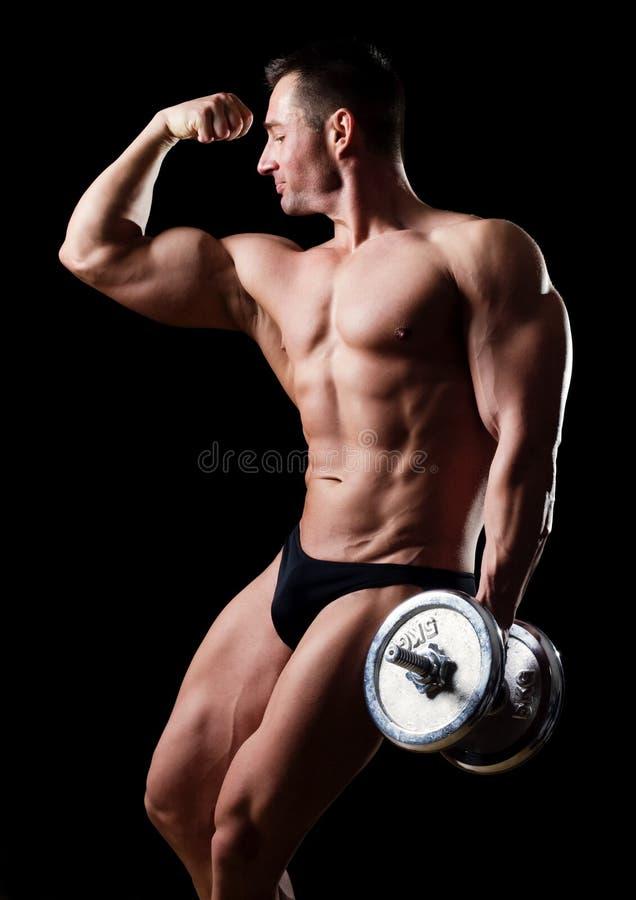 Muscoli fotografie stock libere da diritti