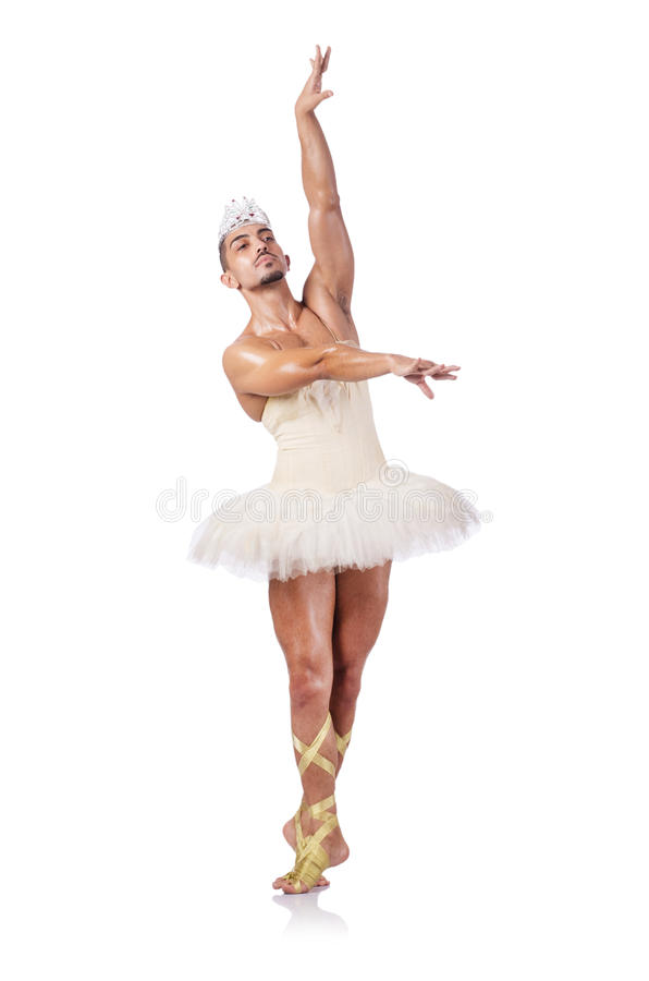 Download Muscular ballet performer stock image. Image of funny - 28031361