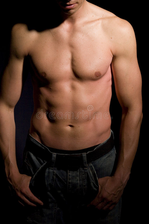 Muscular Male Royalty Free Stock Image