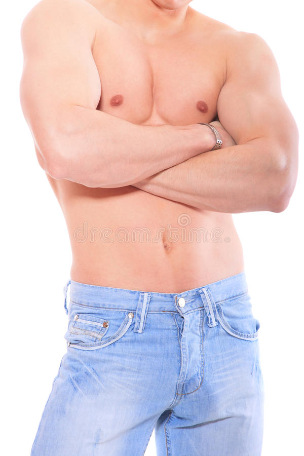 Download Muscular male torso stock photo. Image of bodybuilding - 19054024