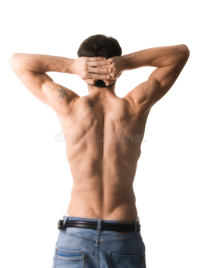 Download Muscular man stock photo. Image of body, male, masculine - 1638810