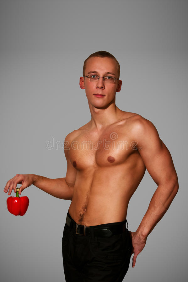 Download Muscular Man Stock Photography - Image: 17570672