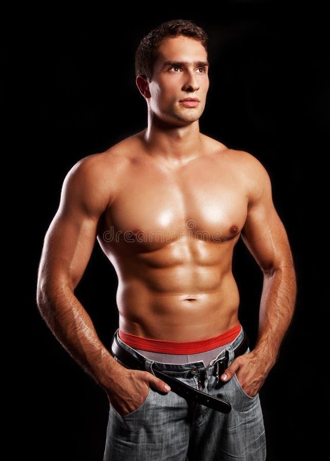 Download Muscular man stock image. Image of muscular, caucasian - 22288611