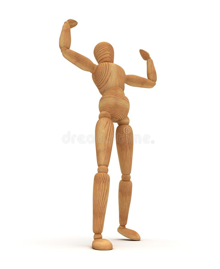 Free Muscular Mannequin Stock Photo - 130004340